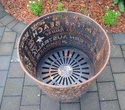 georgia morgan memories of margs fire pit metal sculpture