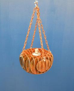 georgia morgan sea sponge citronella oil burner metal sculpture