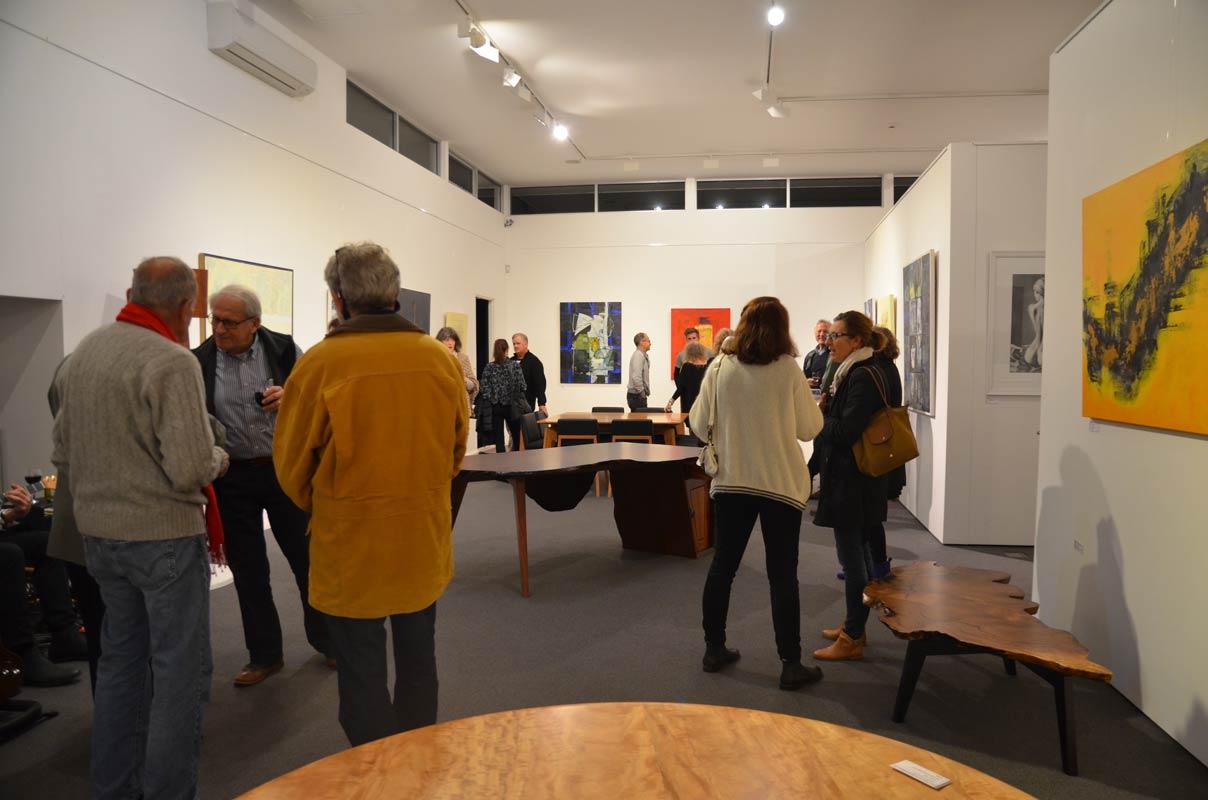 Landscape Yet Not Ladscape Exhibition Opening Night 14
