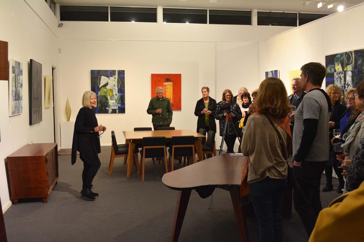 Landscape Yet Not Ladscape Exhibition Opening Night 17