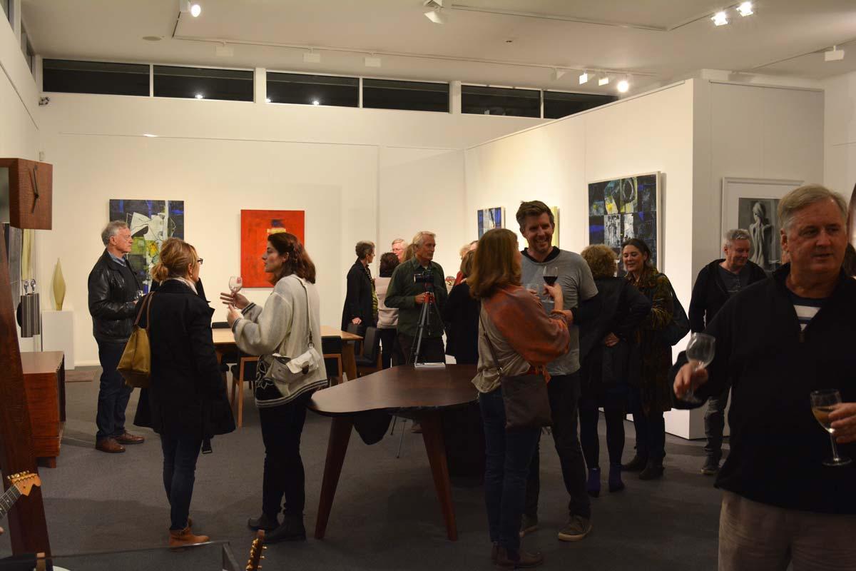 Landscape Yet Not Ladscape Exhibition Opening Night 18
