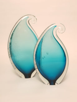 rick cook crystal wave teal large and small