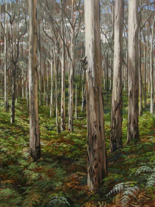 Cla08 Christine Lawrence Boranup Forest 1 22 8cm X 30 4cm