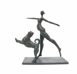 yuko takahashi dancing together sculpture fine art