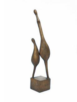 yuko takahashi mother daughter bronze sculpture fine art