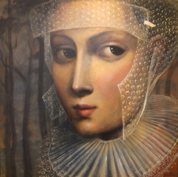 Lauren Wilhelm Bubble Painting 1