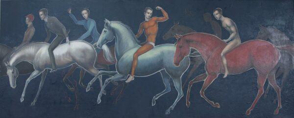 Lauren Wilhelm Forwards 2 Painting