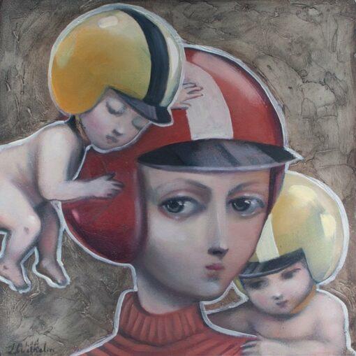 lauren wilhelm your ought to surrender painting