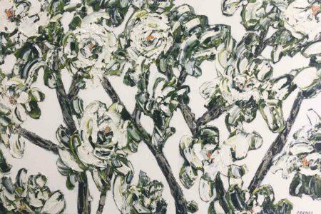 Felicia Aroney White Gardenias Painting