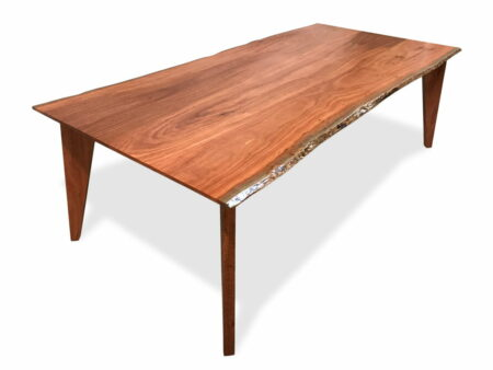 The Stirling Modern Dining Table Side