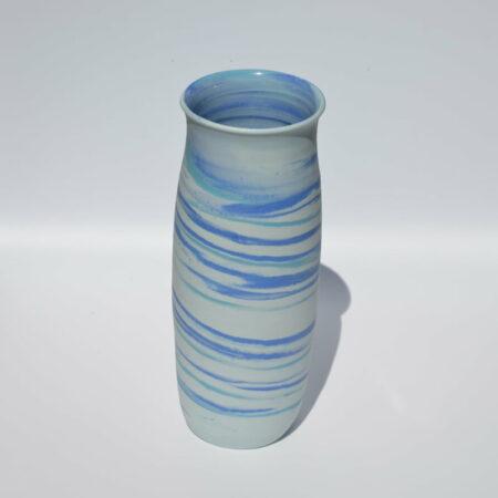 Dgr55 Dariya Gratte Blue Swirl Vase Large 180