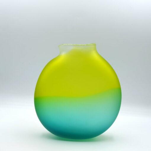 Gordon Studio Glass Gem Vase Green