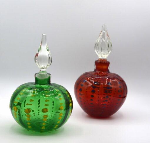 gordon studio glass kaleidoscope bottles