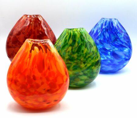 Gordon Studio Glass Tiffany Pocket Vases