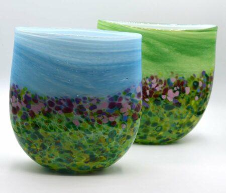 Gordon Studion Glass Stellas Garden Vase