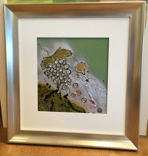 karin luciano adonis painting framed