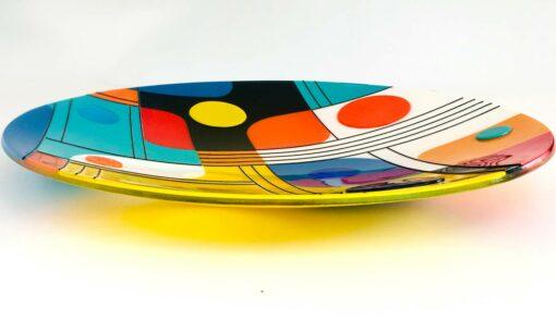 Margaret Heenan Retro Collective Glass Platter