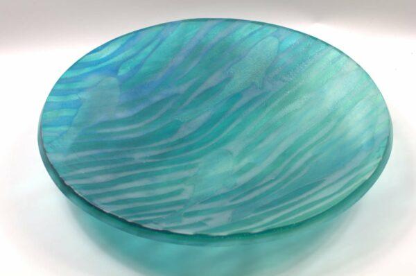 Vivienne Jagger Go Fish 2 Glass Platter