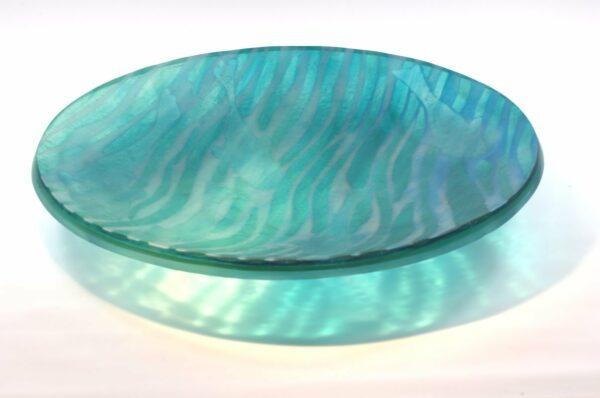 Vivienne Jagger Go Fish 2 Glass Platter Side