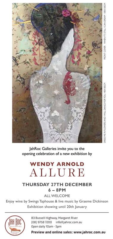 Wendy Arnold Allure Jahroc Exhibition Invite Back Web