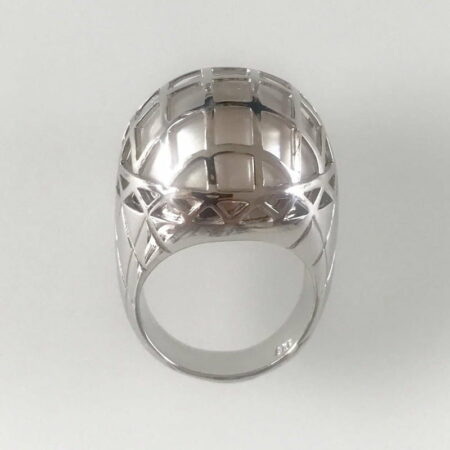 Liddon Pearls Cage Pearl Ring 2