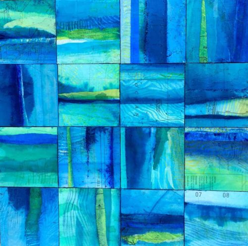 narelle pendlebury aqua immersion painting