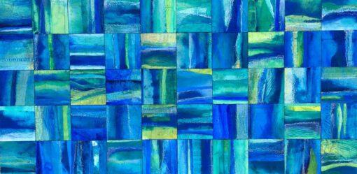 narelle pendlebury aquatic glimpse painting