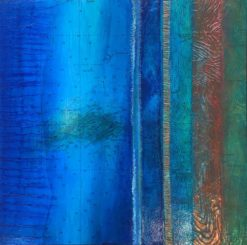 narelle pendlebury blue beyond rotto painting
