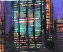 narelle pendlebury city view i painting