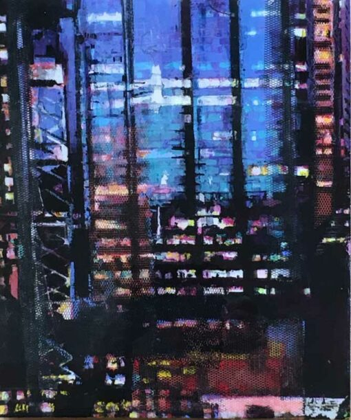 narelle pendlebury city view ii painting