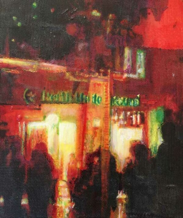 Narelle Pendlebury Hay Street Mall Underground Entry Painting