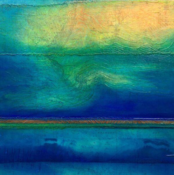 Narelle Pendlebury Roebuck Anchorage Painting