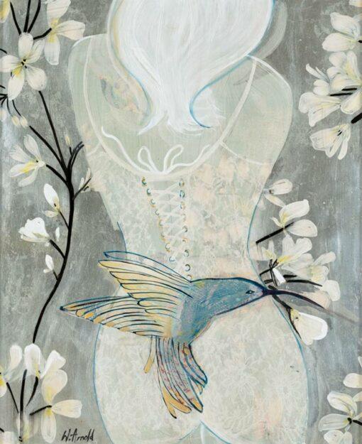 wendy arnold hummingbird painting