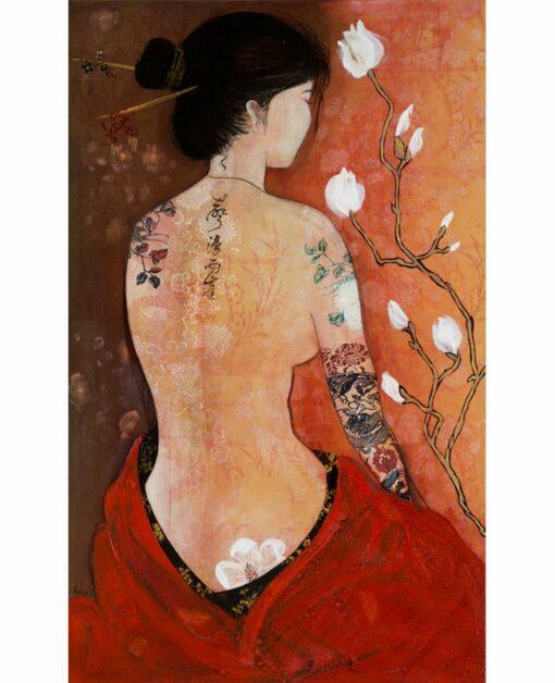 wendy arnold magnolia dreams painting