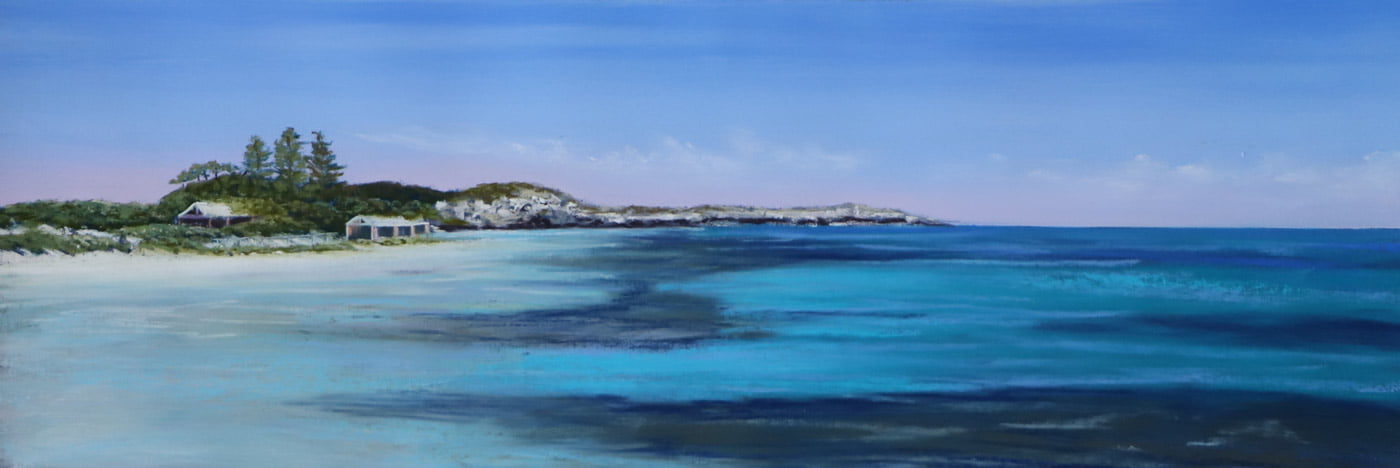 Ann Steer Summer Time Rottnest Pastel Painting