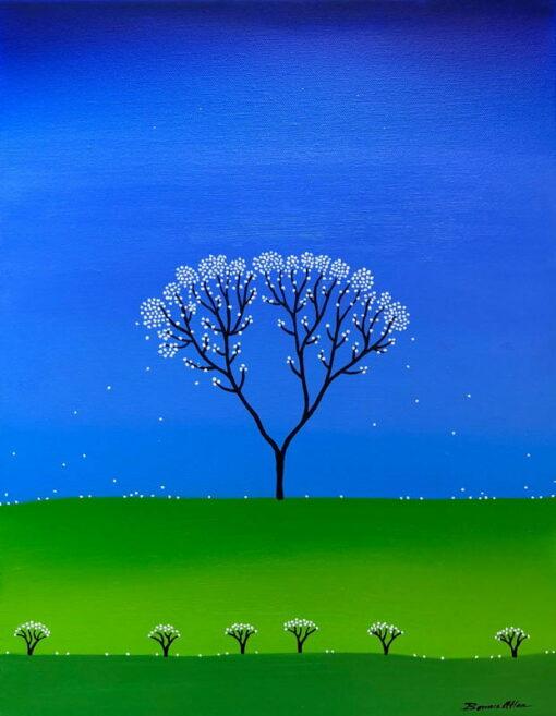 bonnie atlan glowing painting