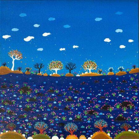 Bonnie Atlan Jubilante Painting