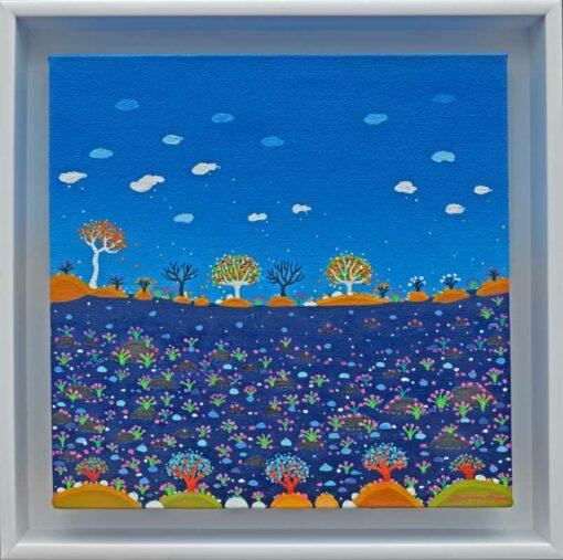 bonnie atlan jubilante painting framed