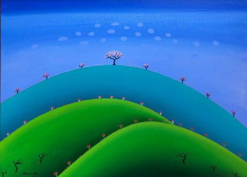 bonnie atlan wonderful world painting