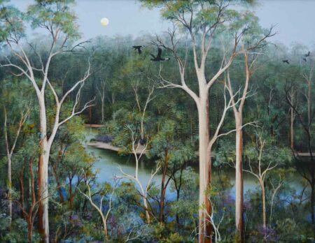 Ingrid Windram Heartbreak Trail Pemberton Painting 1