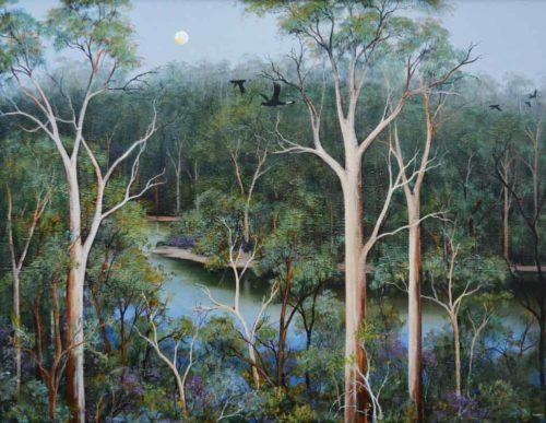 ingrid windram heartbreak trail pemberton painting