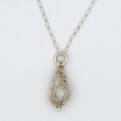 gemma baker wrapped abrohols pearl pendant