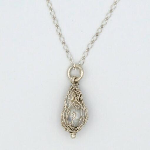 gemma baker wrapped abrohols pearl pendant