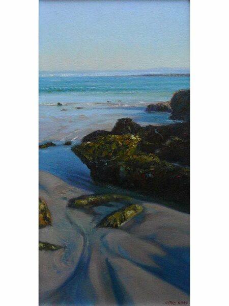 kerry nobbs coastal rocks painting