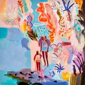 becky blair sacred heart painting