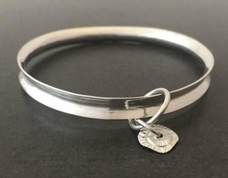 Emma Cotton The Valley 2 Silver Bracelet