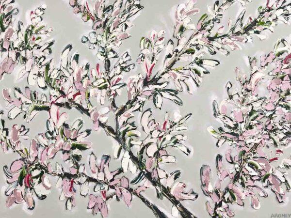 Felcia Aroney Frosty Pink Painting