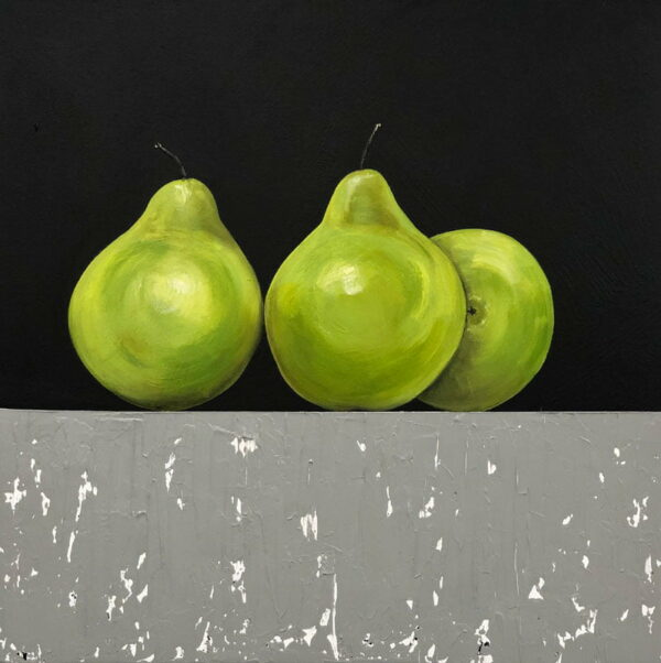 Felicia Aroney Resting Pear Painting