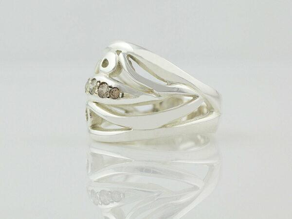 Gemma Baker Argyle Diamond Ring Gba319