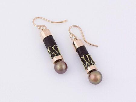 Gemma Baker Bronze Pearl Earings Gba325